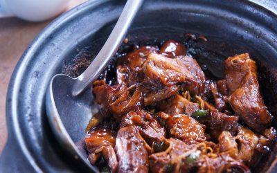 Dopiaza – afghanisches Zwiebelfleisch mit Kichererbsen