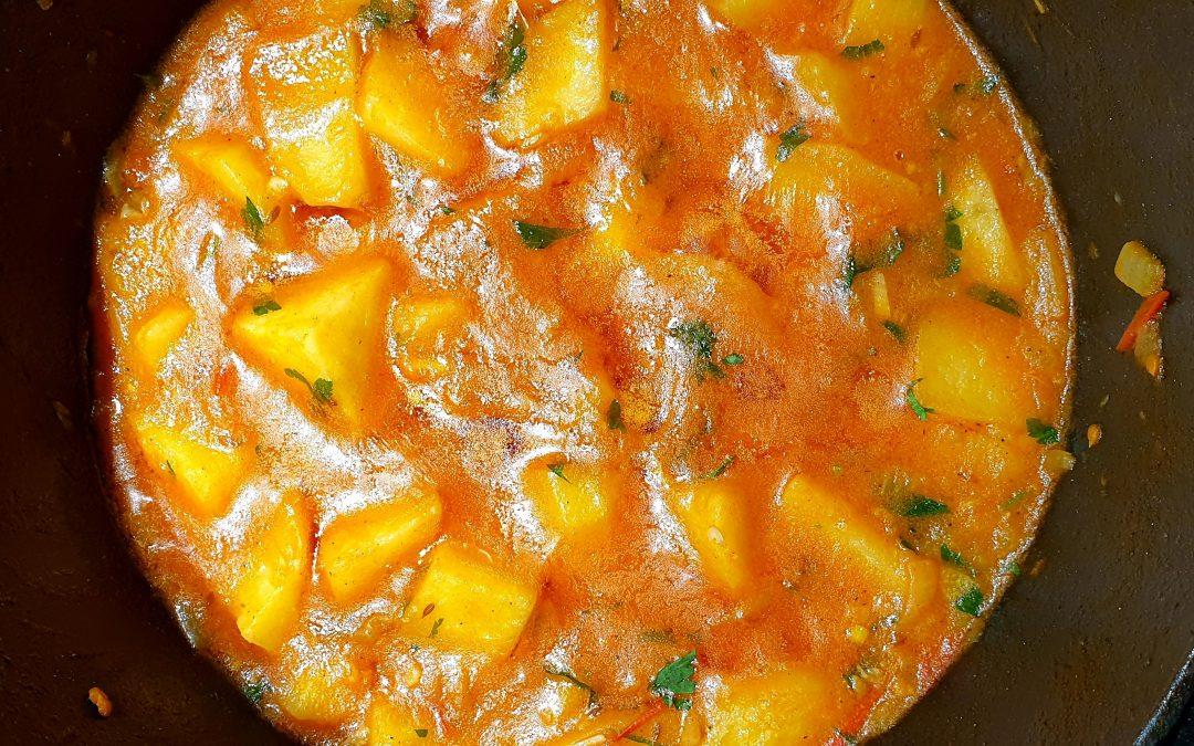 Kartoffeln mit Joghurtsauce