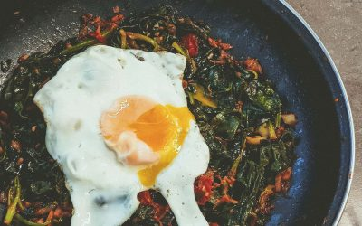 Der Klassiker: Spinat mit Ei!